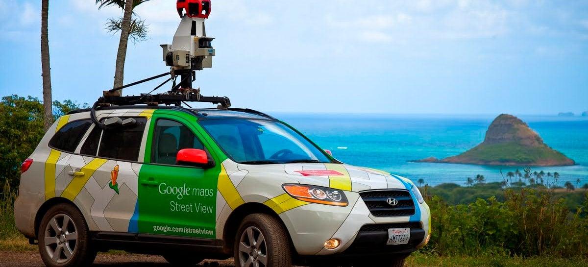 Google Maps começa a testar ícones flutuantes para o Street View - estilo RA