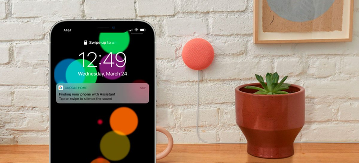 Assistente do Google agora consegue localizar o iPhone dentro de casa