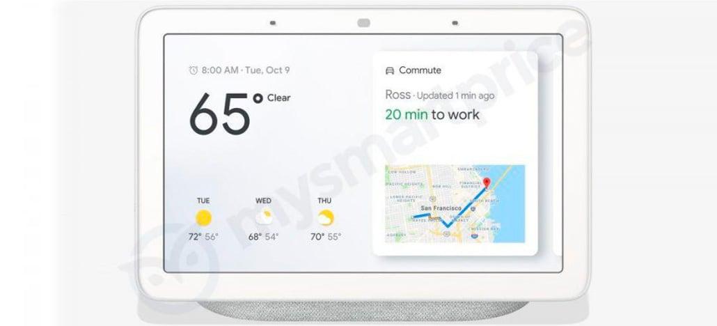 Google Home Hub será a primeira caixa de som inteligente da Google com tela de 7 polegadas