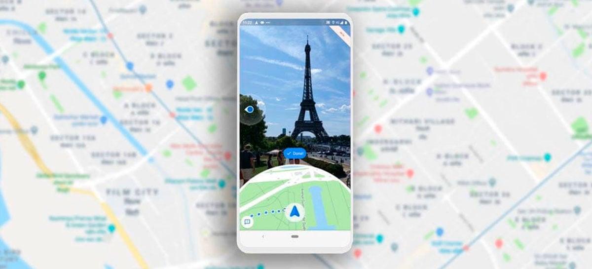 Google traz novidades para Maps Live View em realidade aumentada