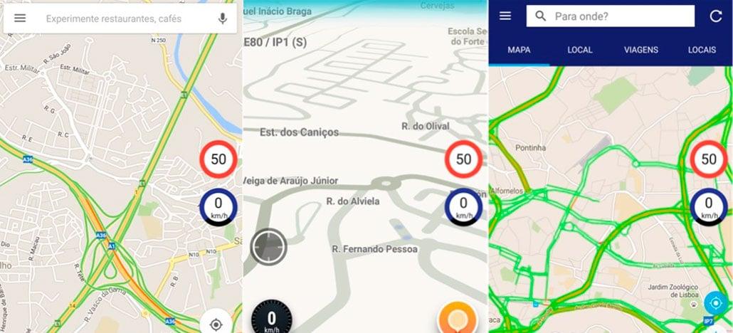 Google Maps está disponibilizando a função aviso de limite de velocidade máxima permitida