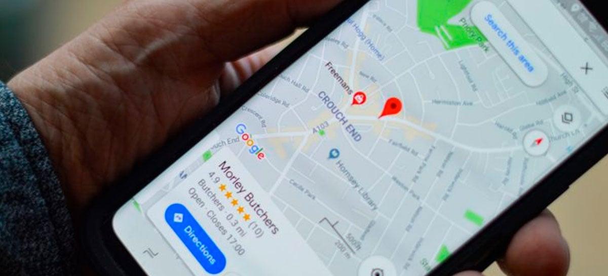 Google Maps está adicionando recurso de rotas mais seguras e eco