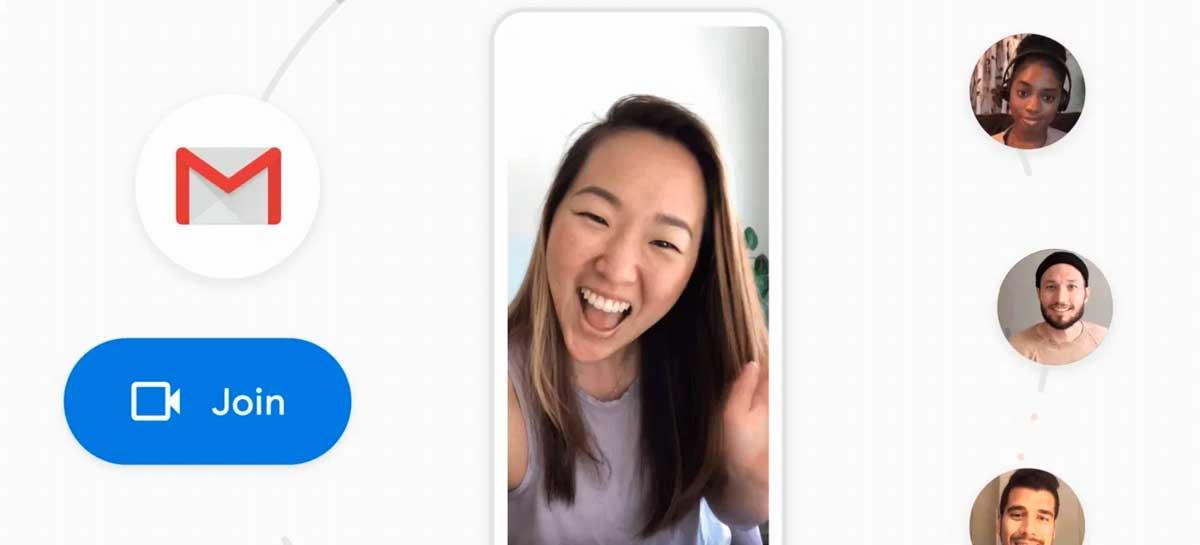 Google anuncia integração do Meet com o Gmail para iOS e Android