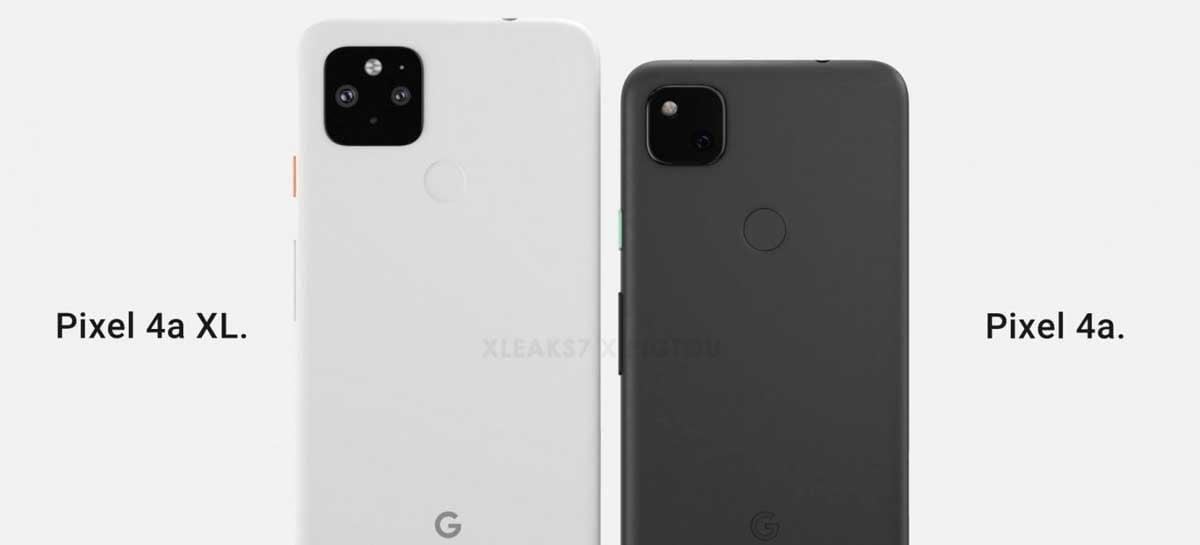 Renderizações mostram como seria Google Pixel 4a XL que foi cancelado