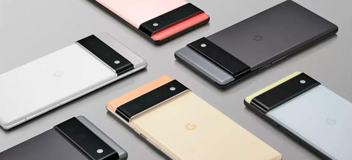 Pixel 6 e Pixel 6 Pro podem ser lançados antes do iPhone 13 [RUMOR]