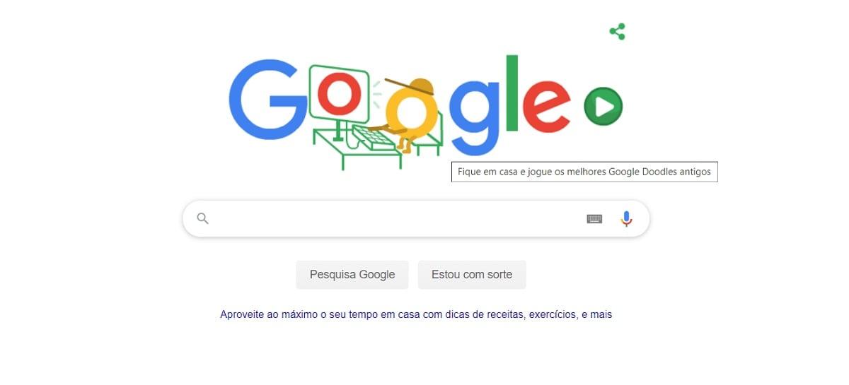 Google libera Doodles antigos e famosos para divertir a quarentena