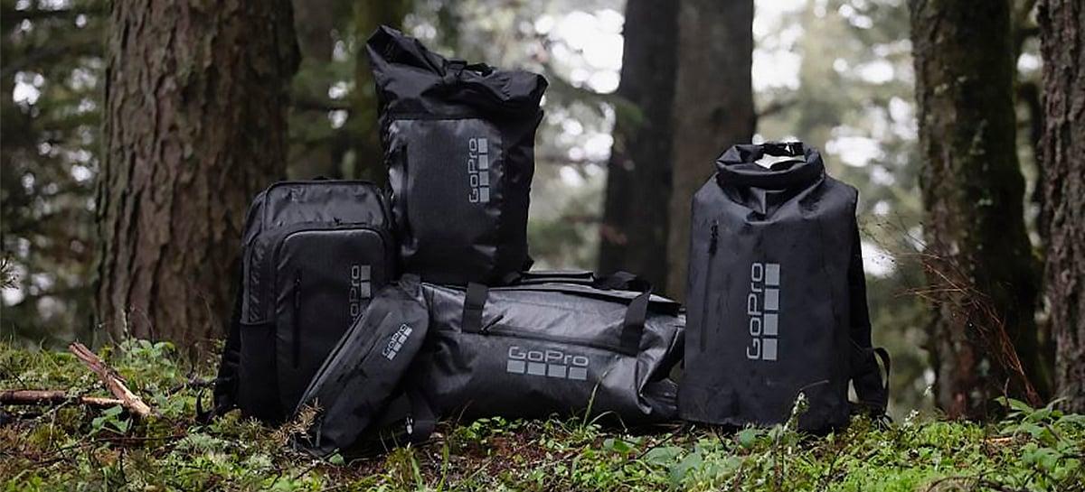 GoPro lança série de produtos lifestyle com bolsas, roupas e acessórios