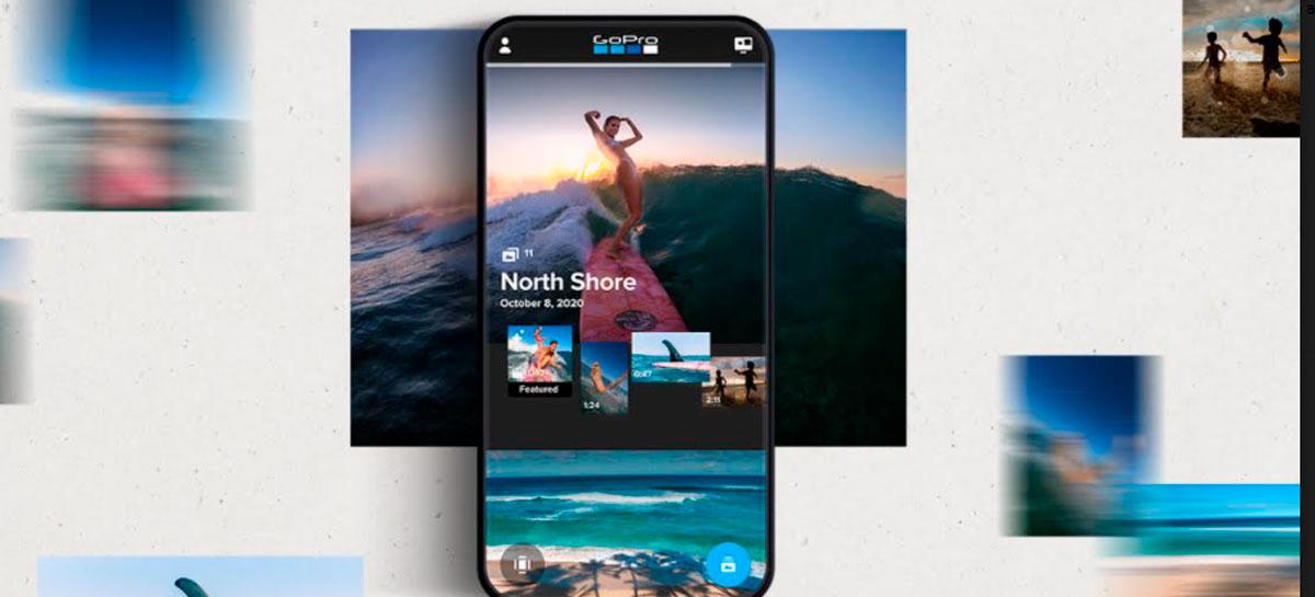 """Atualização do app da GoPro traz recurso """"Mural"""" para organizar eventos"""