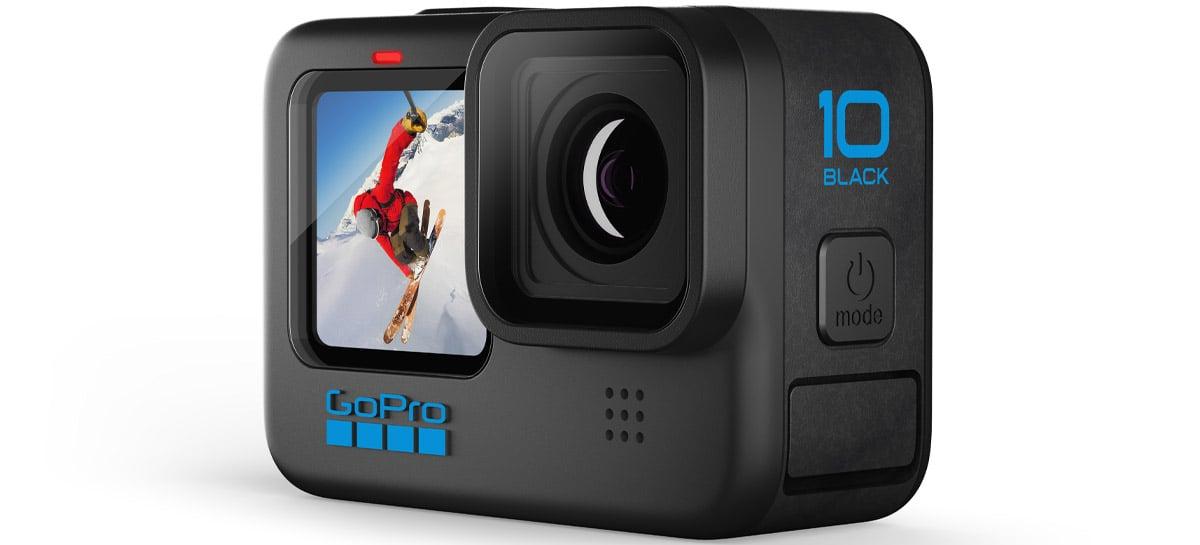 GoPro HERO10 Black é anunciada com novo processador GP2, 5.3K 60FPS e 4K 120FPS