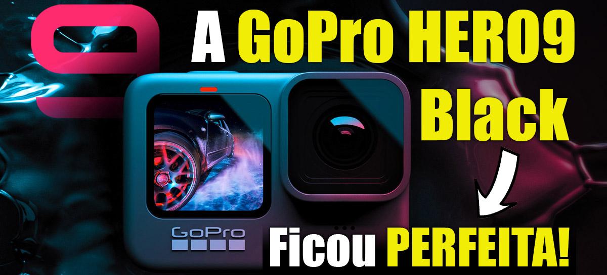 A GoPro HERO9 Black chegou - praticamente PERFEITA!