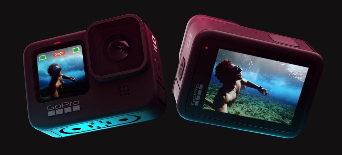 Agora é oficial: GoPro Hero 9 Black chega com duas telas, mais bateria e 5K