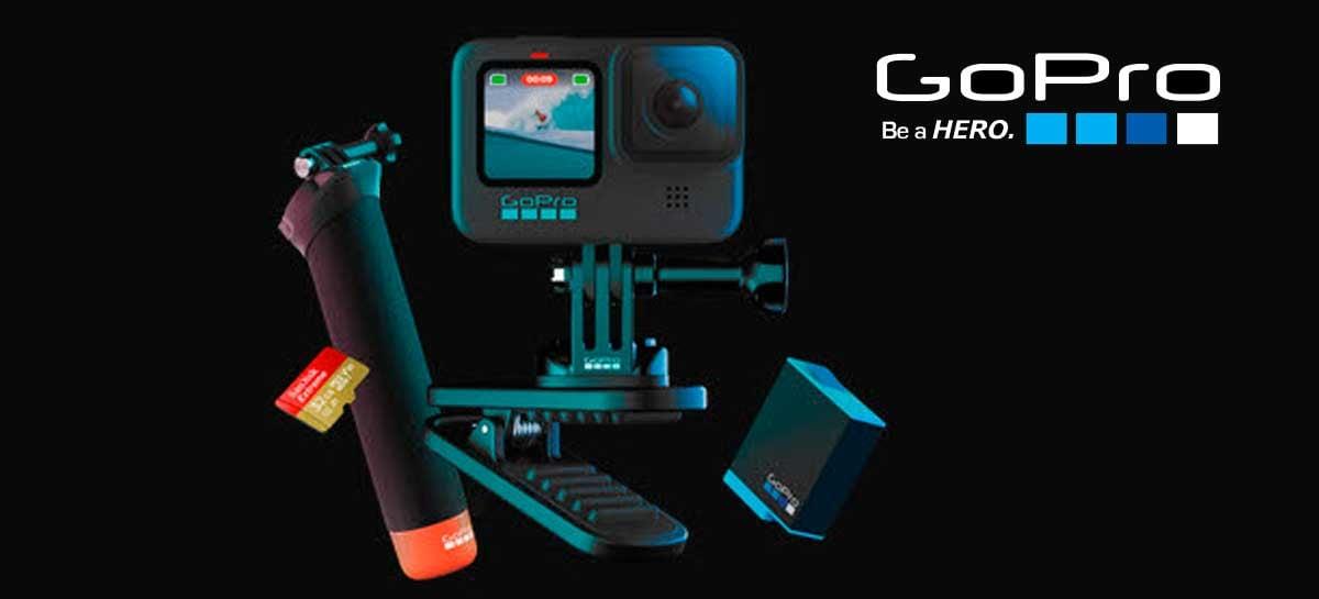 GoPro Hero 9 Black aparece em vazamento - tela frontal vai deixá-la mais cara?