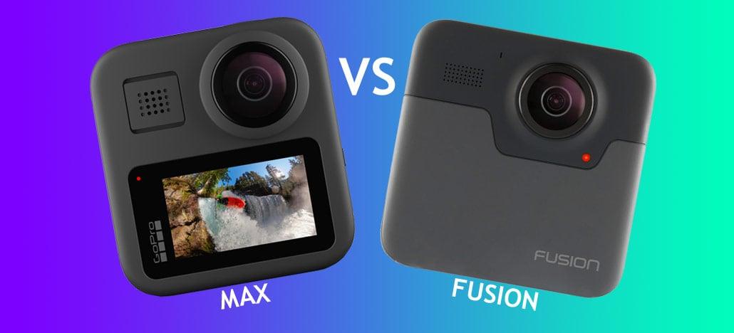 Veja as diferentes entre as câmeras 360 graus da GoPro: MAX vs Fusion