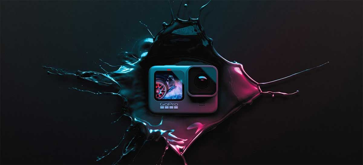 GoPro vai lançar HERO9 Black no Brasil dia 29 com sorteio de câmera e kit