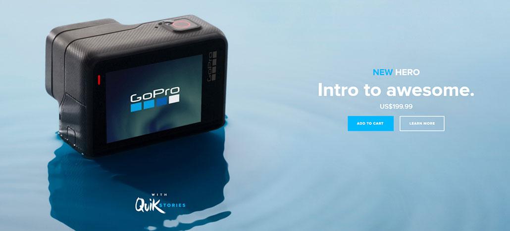 GoPro lança câmera Hero em versão mais barata por US$ 199