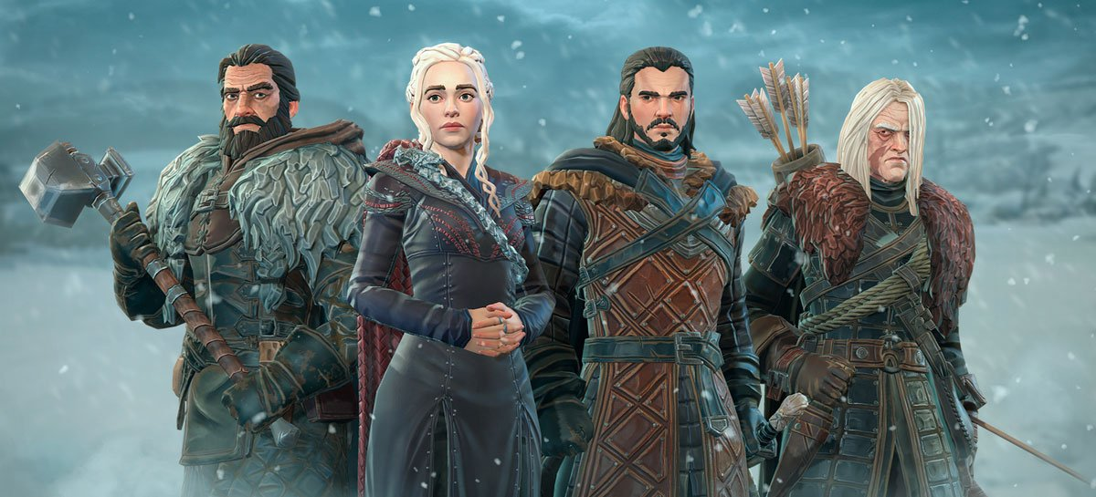 Game of Thrones Beyond the Wall é lançado para iPhones e iPads