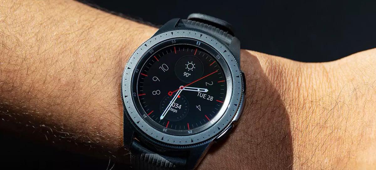 Samsung Galaxy Watch 3 aparece ligado em novas imagens vazadas