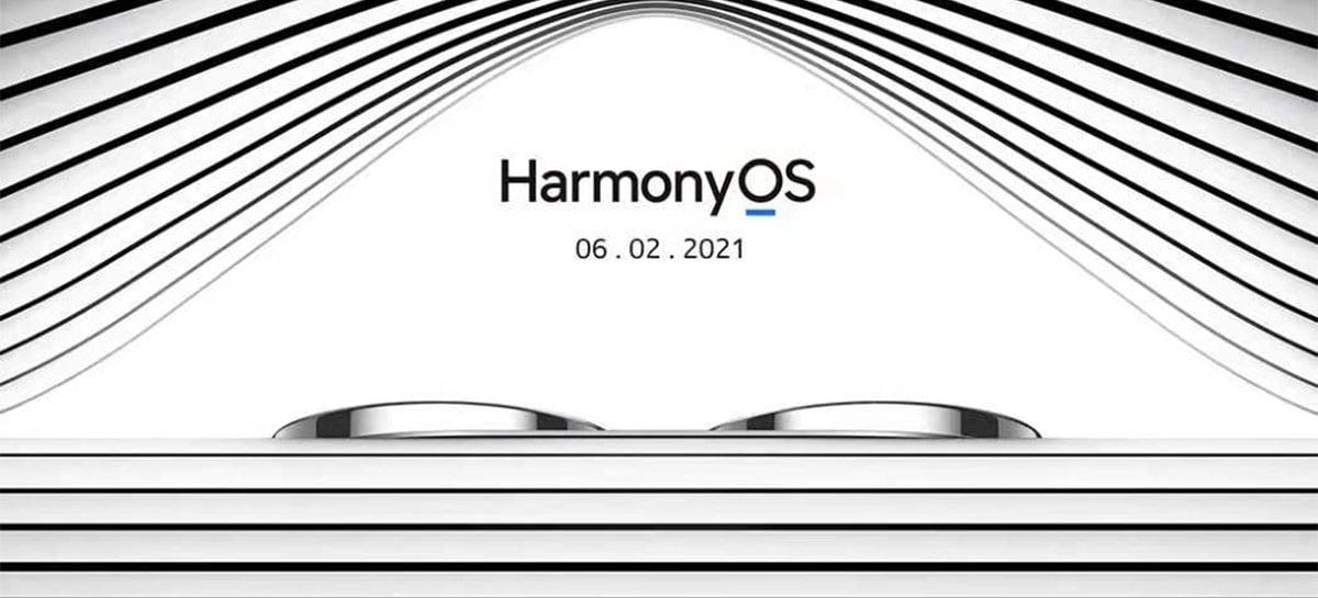 Detalhe das câmeras do Huawei P50 aparece em convite para evento do HarmonyOS