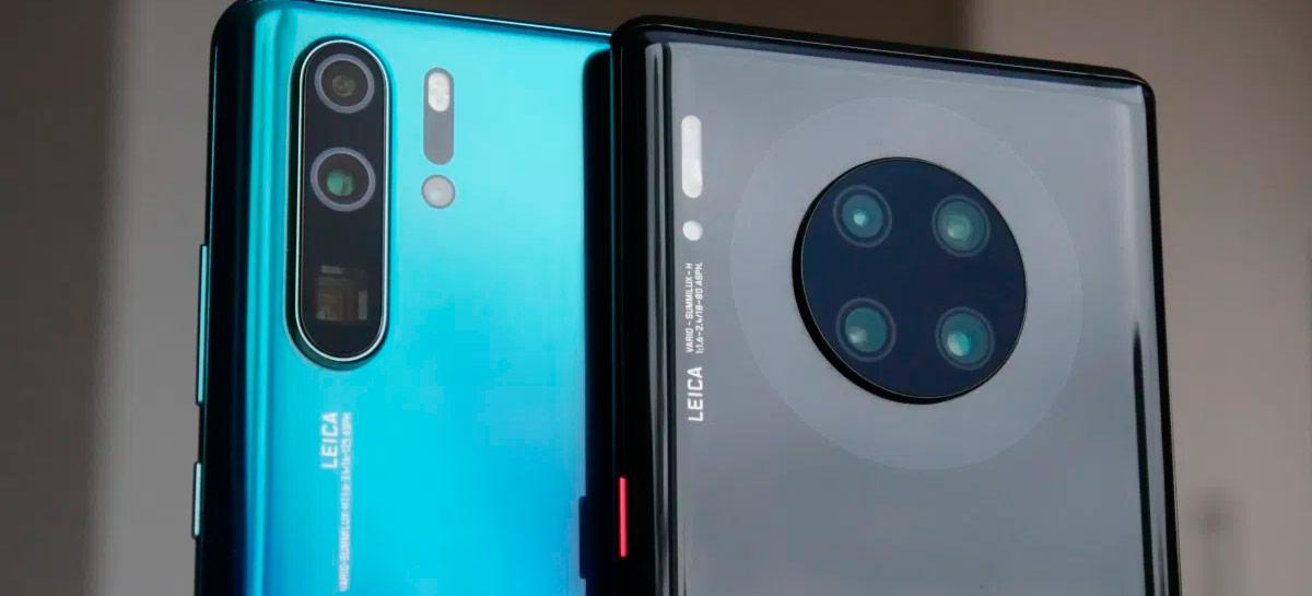 Huawei pode acabar vendendo suas principais marcas Mate e P, segundo rumor