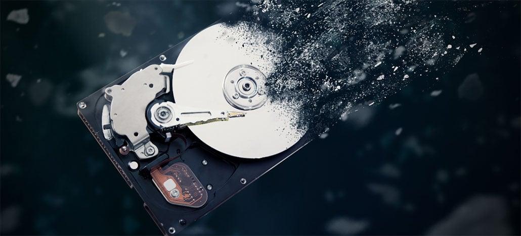 Vendas de discos rígidos devem cair pela metade em 2019