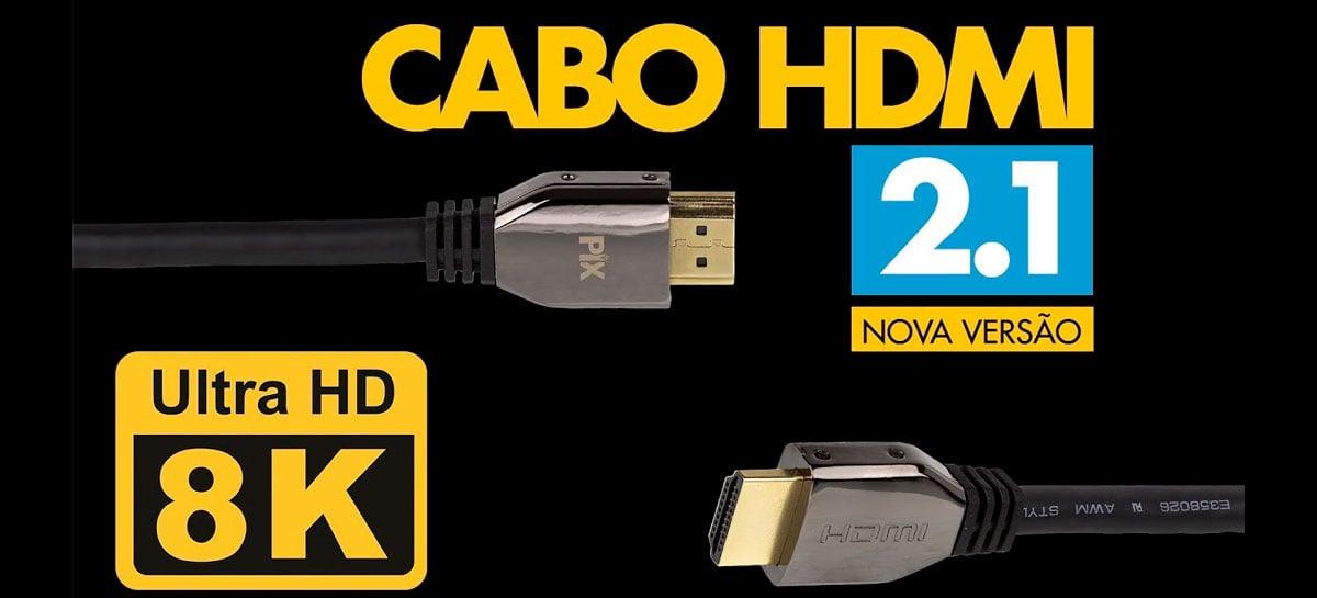 Novo padrão HDMI 2.1 transforma TVs em monitores para jogos