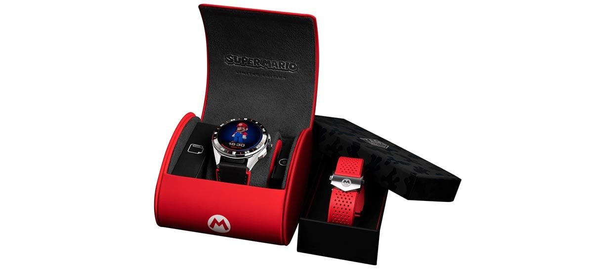 Heuer e Nintendo se juntam para fazer smartwatch do Super Mario