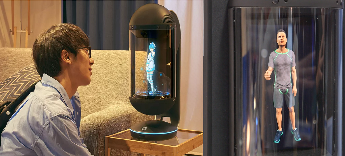 Holograma companheiro Hikari inspira concierges virtuais