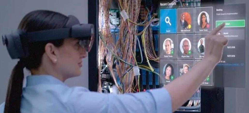 Microsoft apresenta oficialmente HoloLens 2, óculos de realidade mista, e Azure Kinect