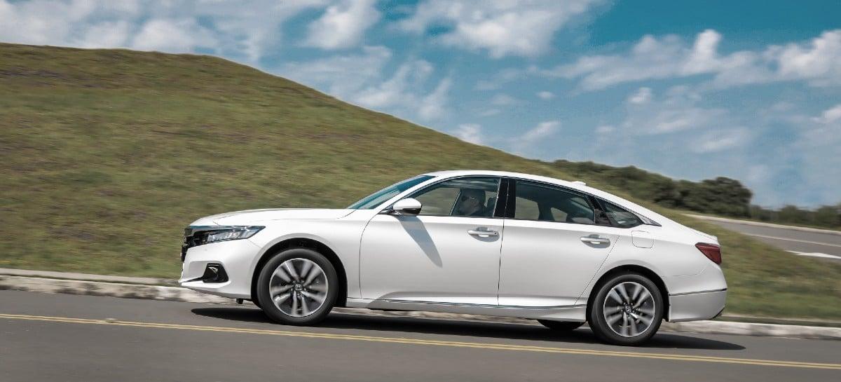 Honda lança novo Accord Híbrido no Brasil