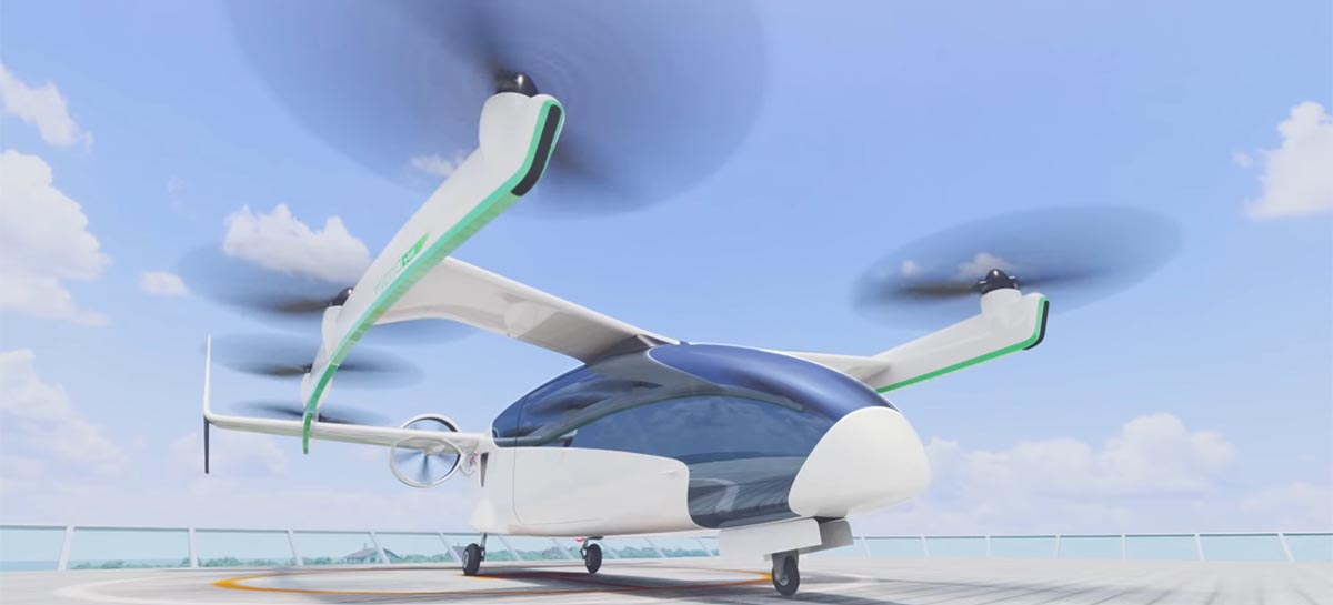 Honda anuncia planos para aeronaves VTOLs elétricas