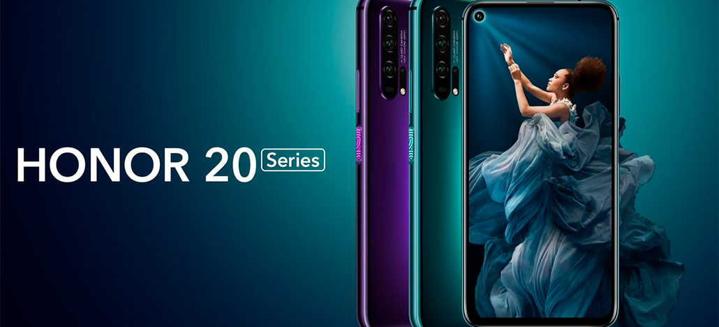 Honor anuncia o Honor 20 Pro e o Honor 20, seus novos celulares high-end por € 499 e € 599