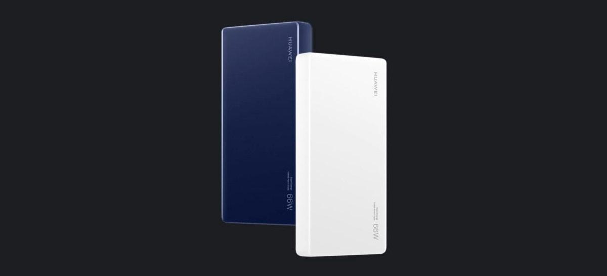 Honor anuncia powerbank de 12.000 mAh com carregamento rápido de 66W