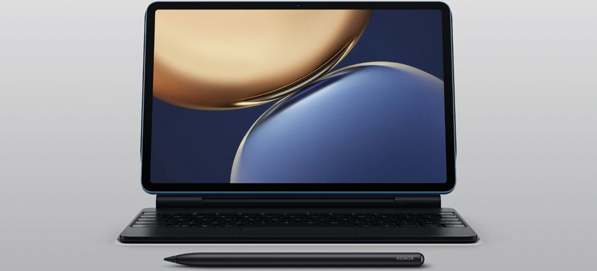 Tablet Honor Tab V7 Pro chega com chip MediaTek Kompanio 1300T e tela de 120Hz
