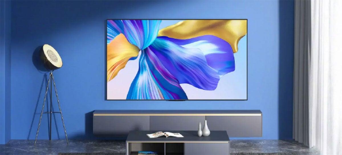 Smart TV de 75 polegadas com Harmony OS, Honor X1 começa a ser vendida amanhã
