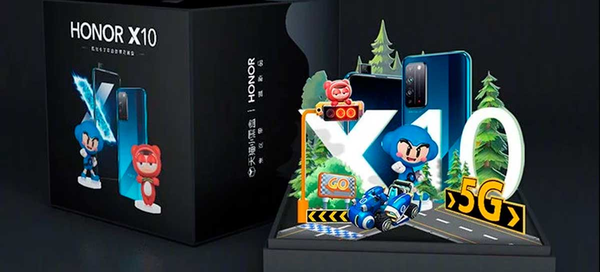 Huawei anuncia Honor X10 Crazyracing Kartrider Gift Box para clientes especiais