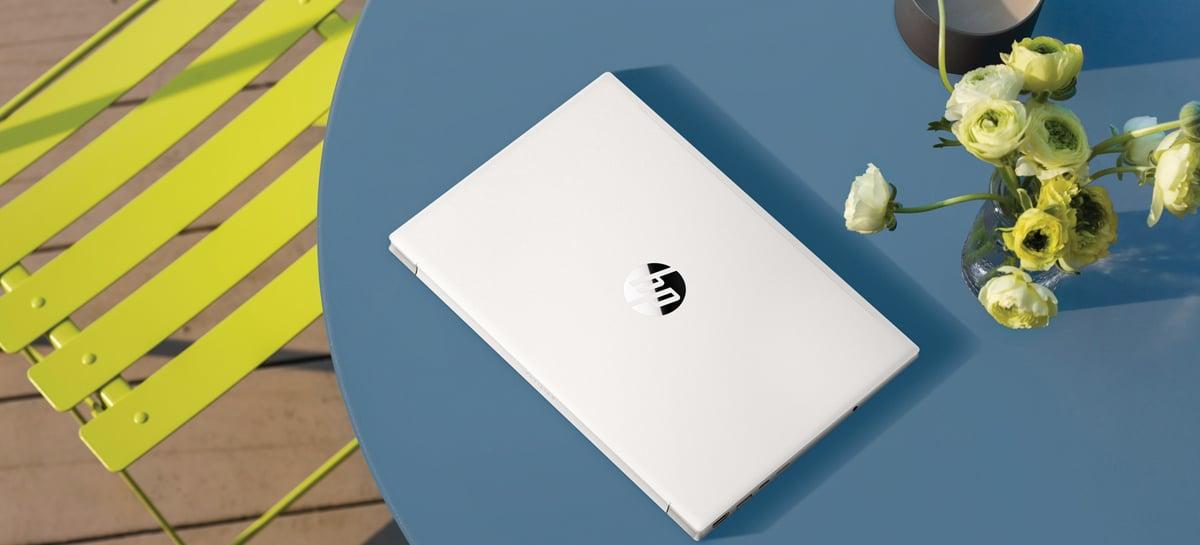 Novos laptops HP Pavilion com chips Intel de 11ª geração usam plástico reciclado