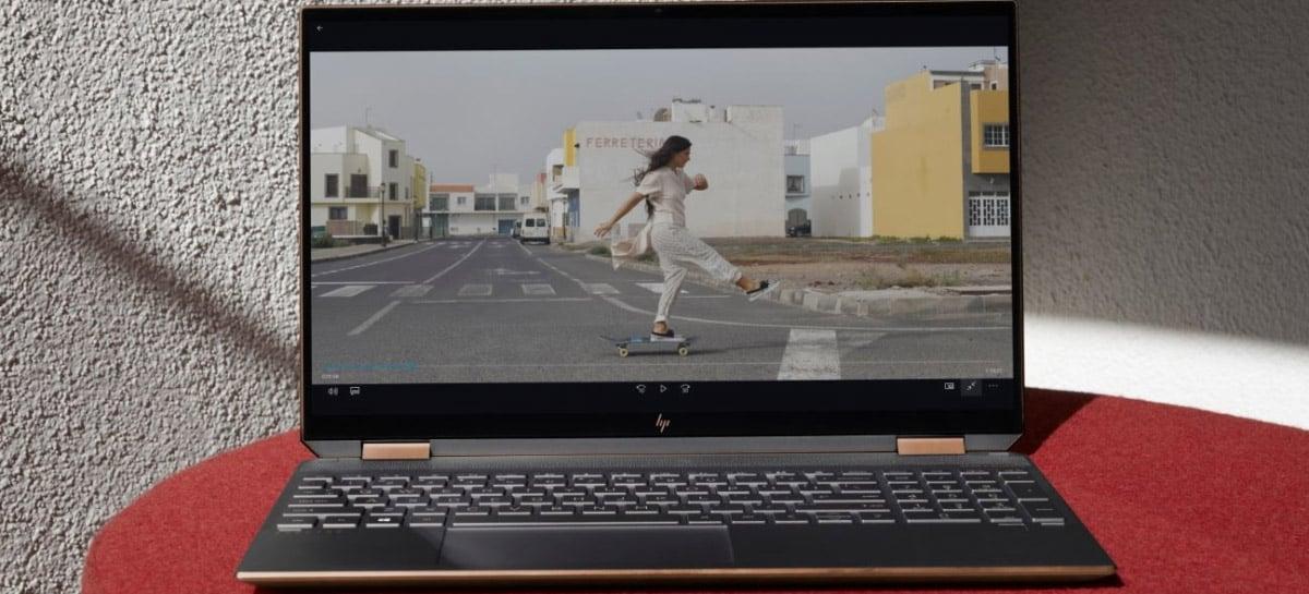 HP anuncia notebook Spectre x360 15 com Core i7 de 10ª geração e tela 4K OLED