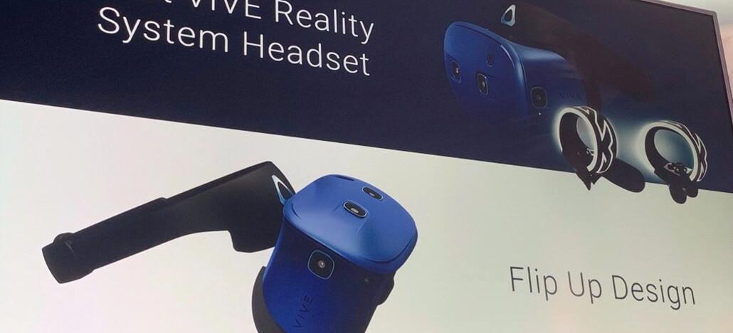 HTC revela novo headset VR semi-portátil na CES 2019: Vive Cosmos