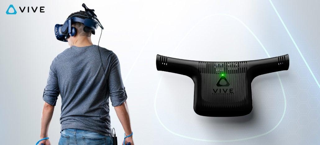 HTC inicia as vendas do adaptador sem fio para seu óculos VR, o HTC Vive