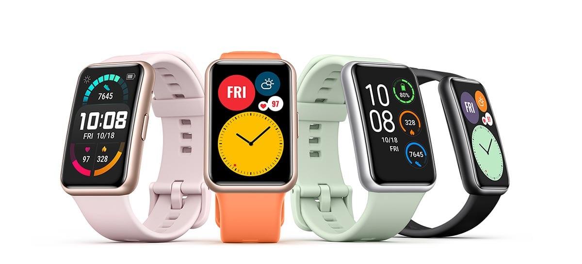 Huawei anuncia novos smartwatches para a série Watch Fit Elegant