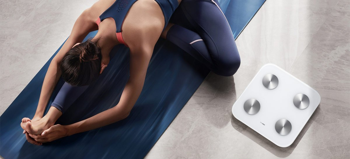 Huawei lança BodyScale 3 no Brasil, sua balança conectada que chega por R$ 279