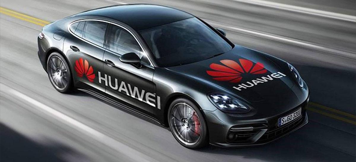 Huawei estaria planejando fazer carros elétricos como resposta às sanções dos EUA