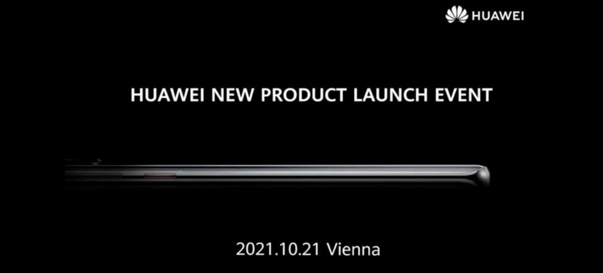 Huawei marca evento em 21 de outubro para lançamento de produtos