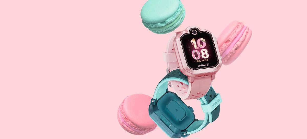 Novo relógio para crianças Huawei Children's Watch 3 Pro Super chega com 1GB de RAM