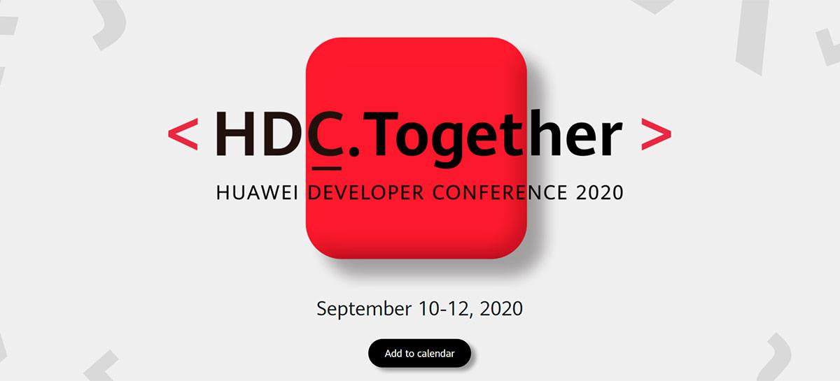 Huawei vai divulgar novidades da EMUI 11 e HarmonyOS a partir de 10 de setembro