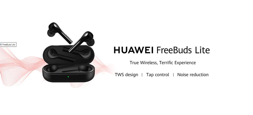 Huawei lança fones de ouvido sem fio FreeBuds Lite no Brasil por R$ 799
