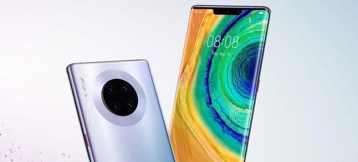 Renderizações do Huawei Mate 40 mostram câmeras traseiras em um grande módulo circular