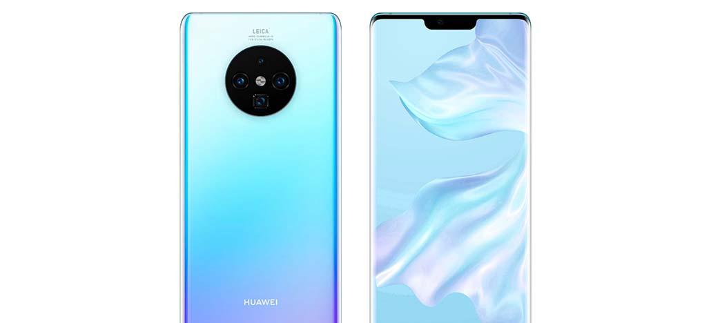 Vazam protetores de tela da série Huawei Mate 30, dando pistas de seu design [Rumor]