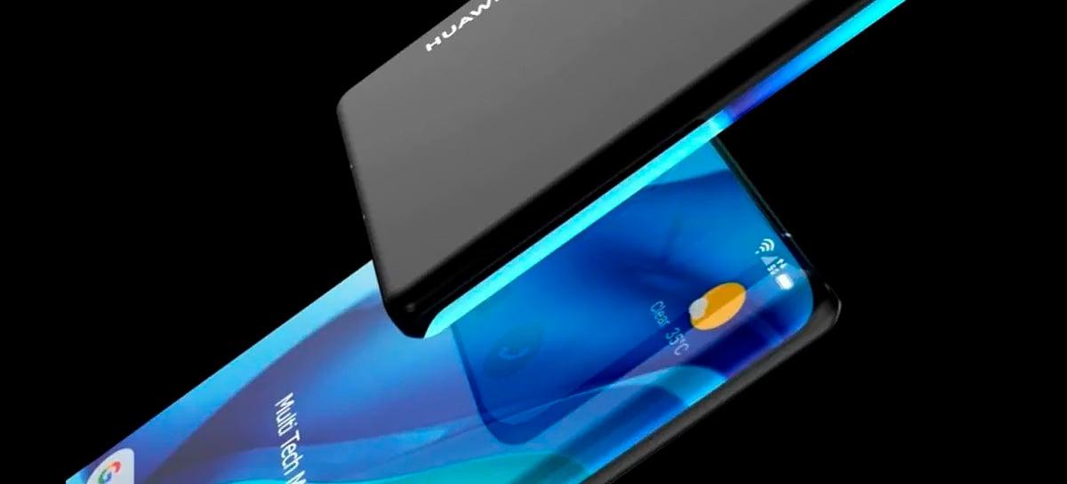 Huawei Mate 40 não terá câmera frontal escondida no display