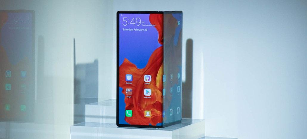 Huawei Mate X 233 Revelado Por Us 2 600 Com Impressionante
